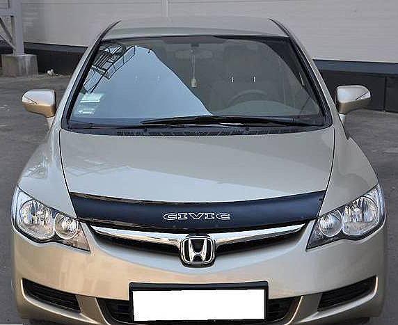 Дефлектор капота VIP-Tuning для Honda Civic SD (Хонда Цивик Седан) 2005-2011